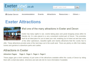 Exeter Attractions