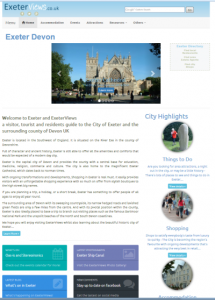 New Exeter home page